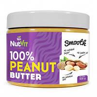 Натуральная арахисовая паста 100% Peanut Butter Ostrovit 0,5 kg