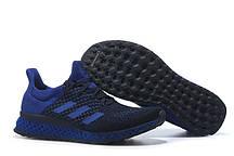Кроссовки мужские  Adidas Ultra Boost FutureCraft 3D Navy Blue. интернет магазин обуви, адидас ультра буст