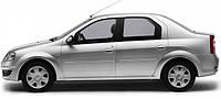 Накладки на пороги Renault Logan