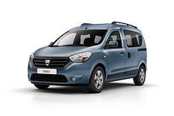 Накладки на пороги Renault Dokker (2013+)