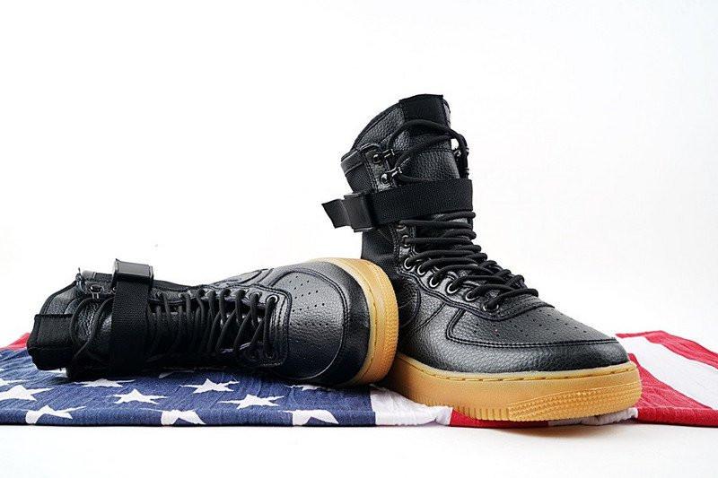Женские кроссовки Nike Air Force SF1 Black. Найк аир форс, сайт магазин  кроссовок 4df1f543dcf