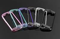 Yotaphone 2 защитный бампер силиконовый  белый серый бирюза розовый фиолетовый !!
