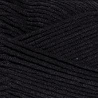 YarnArt Jeans Plus 53 черный