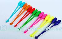 Булавы для художественной гимнастики 44см C-045: 7 цветов