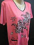 Трикотажные футболки для женщин на лето., фото 2