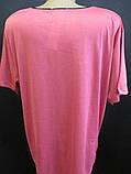 Трикотажные футболки для женщин на лето., фото 5