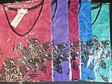 Трикотажные футболки для женщин на лето., фото 6