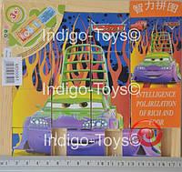 Деревянная игрушка Пятнашки MD 0081 (72шт) 2 вида, 18-18см