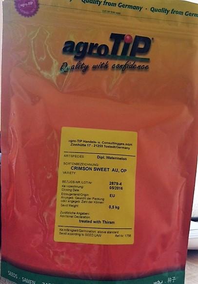 Семена Арбуза сорт Кримсон Свит 0,5 кг,  пр-ль Agro-TIP, фото 1