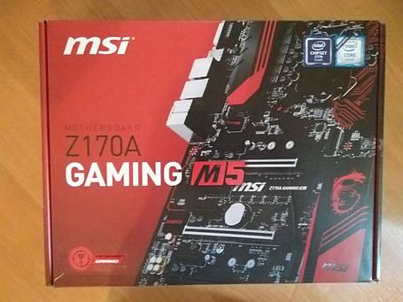 Материнская плата MSI Z170A Gaming M5, фото 2