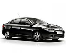 Накладки на пороги Renault Fluence (2009+)