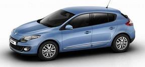 Накладки на пороги Renault Megane III (2010+)