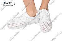 Женские кроссовки белые (Код: 1751-4)