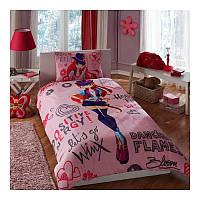 Постельное белье Tac Disney - Winx Holiday Bloom 160*220 подростковое
