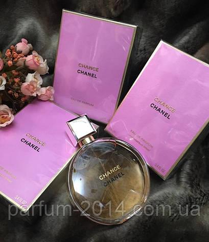 Женская парфюмированная вода Chanel Chance EDP + 5 мл в подарок (реплика), фото 2