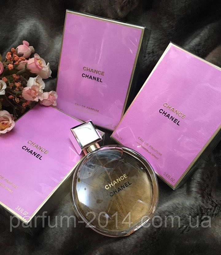 Женская парфюмированная вода Chanel Chance EDP + 5 мл в подарок (реплика)