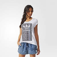 Женская футболка adidas Soccer Tribal (АРТИКУЛ:AJ8962)