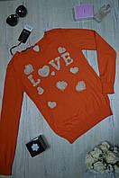 Женская кофта свитшот арт Турция, фото 1