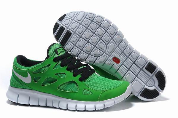 Кроссовки Nike Free Run 2.0 Green Зеленые мужские