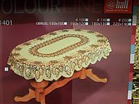 Скатерть 220х140 на овальный стол