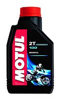 Масло моторное Motul 100 2T 1L