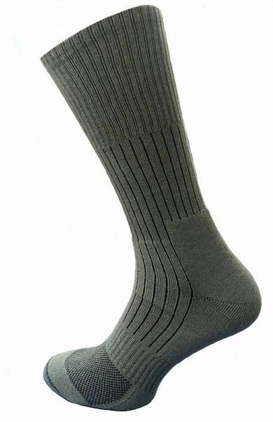 Носки треккинговые с текстурными термозонами