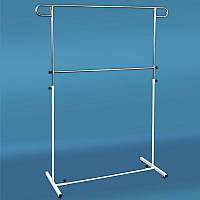 Вешалка, стойка для одежды металлическая