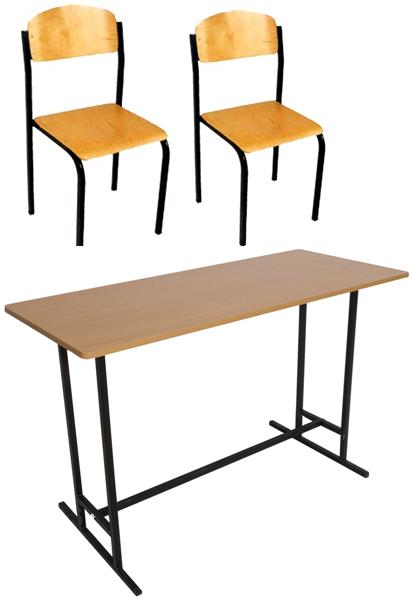 Комплект шкільних меблів ЕКОНОМ-4