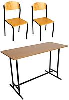 Комплект шкільних меблів ЕКОНОМ-4, фото 1
