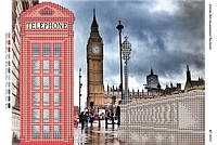 Схема для вышивки бисером Лондон