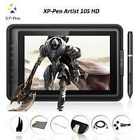 Планшет-дисплей графический интерактивный для рисования XP-Pen Artist 10S HD, рабочая поверхность 217*136мм