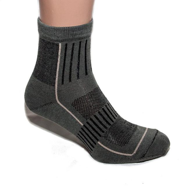 Носки треккинговые низкие олива