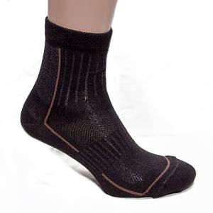 Носки треккинговые низкие черные