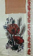 Пакет майка 29*50 Маки с колосками