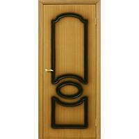 Межкомнатные двери Омис Виктория ПГ орех миланский (шпон)
