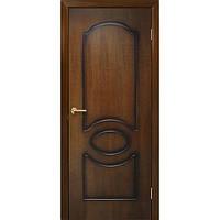 Межкомнатные двери Омис Виктория ПГ орех лесной (шпон)