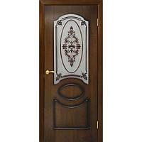 Межкомнатные двери Омис Виктория СС+ФП орех лесной (шпон)