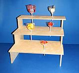 Подставка для конфет, кексов, капкейков заготовка для декупажа и декора, фото 2