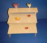 Подставка для конфет, кексов, капкейков заготовка для декупажа и декора, фото 3