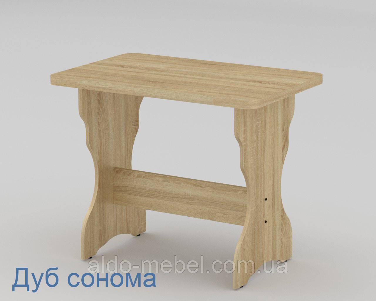 Стол кухонный КС - 2 Не раскладной Габариты Ш - 900 мм; В - 716 мм; Г - 600 мм (Компанит)