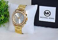 """Наручные часы """"Майкл Корс"""" со стразами."""