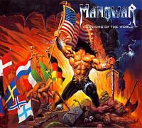Музыкальный CD-диск. Manowar - Warriors of the World
