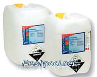 Средство для дезинфекции воды бассейна Активный кислород жидкий, Freshpool, 30 кг