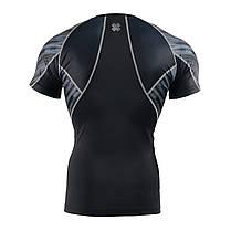 Комплект компресійна футболка Fixgear і компресійні штани C2S-B67+P2L-B67, фото 3