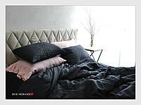 "Комплект из 100% льна ""Milfey, Grey&Pink"", фото 1"