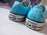 Кеды Converse All Star Голубые, фото 2