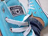 Кеды Converse All Star Голубые, фото 6