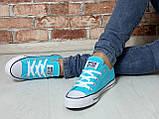 Кеды Converse All Star Голубые, фото 7