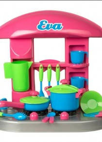 Детская кухня средняя игровой набор для девочек