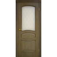 Двери Омис Венеция СС+ФП дуб ретро (шпон)